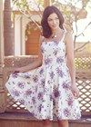This sweet little number looks perfect for Spring bike riding! Linda Bouquet Sun Dress from People Tree Summer Outfits, Summer Dresses, Sustainable Fabrics, Daytime Dresses, Spring Fashion, Knitwear, Organic Cotton, Bouquet, Sun