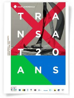 Studio Dumbar: AG2R LA MONDIALE Le Transat Visual Identity