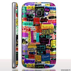 Coque téléphone portable Samsung Ace 4 : Words - Coque rigide de protection. #Coque #pub #ace #4 #sm-g357fz #words