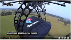 Drone pizza delivery and automated delivery - it's coming!