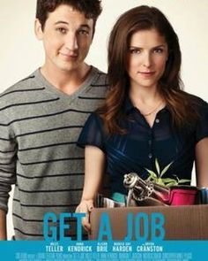Trailer, images and poster for the comedy GET A JOB starring Anna Kendrick, Miles Teller, Bryan Cranston, Alison Brie and Marcia Gay Harden. Great Movies, New Movies, Movies To Watch, 2016 Movies, Girly Movies, Tv Watch, Upcoming Movies, Hd Movies Online, Tv Series Online