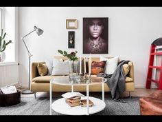 Tour Studio Apartment, Eclectic Style, Raised Bed