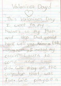 A little something something for Valentine's day :0 Ellen Show-Bad Valentines