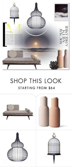 """""""Spring Night on The Terrace..."""" by elleylove ❤ liked on Polyvore featuring interior, interiors, interior design, home, home decor, interior decorating, Menu, Nobis, Polaroid and McCoy Design"""