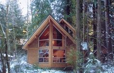 Pan Abode Cedar Homes Post and Beam Eagles Nest #575 Cabin