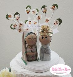 Traditional Indian Cake Topper