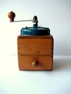 Coffee grinder vintage French item Antique mill by OuiInFrance, $66.00