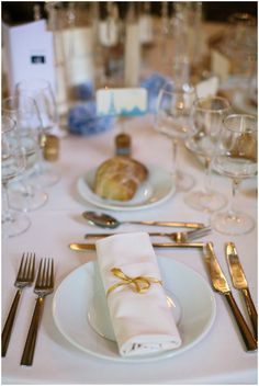 gold wedding table  Photography © Ian Holmes on French Wedding Style ...