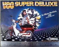 YAMAHA V80 SUPER DELUXE INDONESIA Brochure Sales Catalog 1980 RXK RXS DT100X L2S