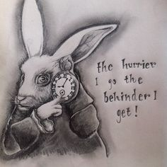 A sketch of the white rabbit from Alice in Wonderland. Alice in Wonderland - White Rabbit Alicia Wonderland, White Rabbit Alice In Wonderland, Alice In Wonderland Drawings, Alice And Wonderland Quotes, Alice In Wonderland Party, Adventures In Wonderland, Alice Quotes, Disney Quotes, Alice Tattoo