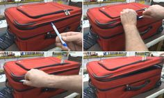 This video shows how baggage handlers can open the zip on your luggage, take what they want,, then return it to its original state so you are none the wiser. Security Tips, How To Protect Yourself, Baggage, Videos, Suitcase, Vienna, Easy, Travel Tips, Wanderlust