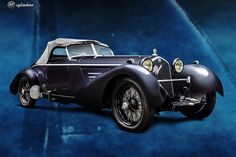 The Car: Alfa Romeo 8C 2300 Speedster by Eagle Coachworks, #2311237, Unrestored…