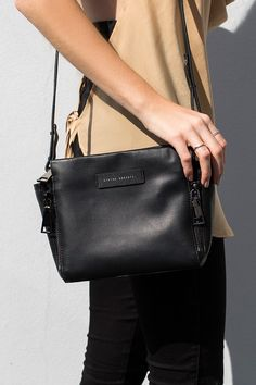 Looking for a timeless accessory to cherish forever? The Status Anxiety The Ascendants Bag Black is the carry-all you can treasure for eternity. Leather Accessories, Fashion Accessories, Christmas Gifts For Husband, She Is Clothed, New Handbags, Wardrobe Basics, Girly Things, Girly Stuff, La Mode