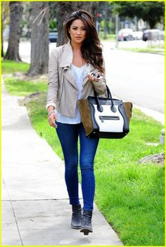 <3 Shay Mitchell's style and her fantastic hair
