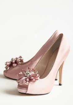 a7908597a024 Chantelle Embellished Heels In Rose   beautiful pink ) Embellished Heels