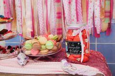 Happy birthday/decor and design/macaroni/birthday party
