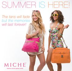 Summer is here! #miche #quotes #summerishere