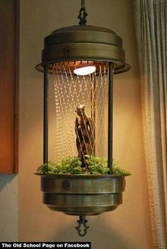 1970 Rain Lamp