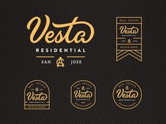 Vesta Residential Branding by Alex Spenser