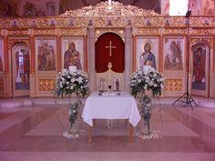 Ανθοστολισμός γάμου - βάφτισης στην Φανερωμένη Βουλιαγμένης #lesfleuristes #λουλούδια #ανθοσύνθεση #ανθοπωλείο #γλυφάδα #γάμος #βάφτιση #νύφη #δεξίωση #εκκλησία