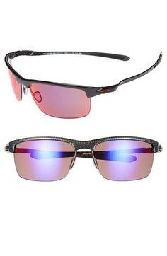 bb5b3e83e2c Men s Oakley  Carbon Blade  66mm Polarized Sunglasses - Polished Carbon -  Sale! Up