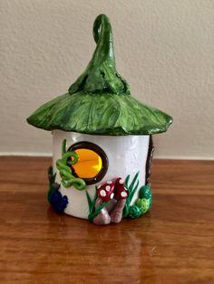 Hadas casa miniatura casa polímero arcilla por LifeCreationDesign