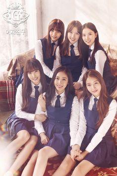 GFRIEND - Snowflake - Umji + Yerin + Eunha + Yuju + SinB + Sowon
