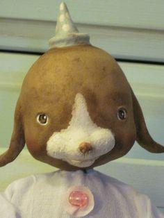 Primitive Vintage Inspired Bunny Rabbit by pattycakeprimitives, $110.00