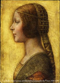 La Bella Principessa - Attributed to Leonardo Da Vinci.  This little portrait made big news in 2009 when experts attributed it to the Florentine Master based on forensic evidence.  A tremendous find and exquisite piece. http://edition.cnn.com/2009/WORLD/europe/10/13/da.vinci.portrait.found/