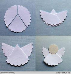 TB ♥ OH: 10 prostych pomysłów na papierowe ozdoby choinkowe