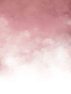 Poster med rosa moln till modern inredning | Trendiga planscher till inredning