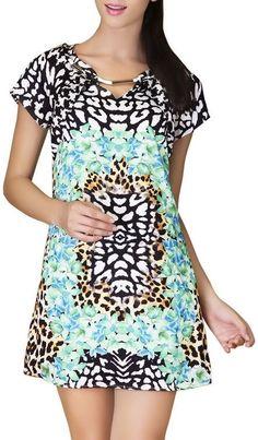 Floral Tigrina Bodycon Dress ♥