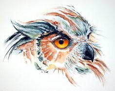 'Golden Eye' von Maria Inhoven bei artflakes.com als Poster oder Kunstdruck