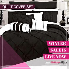 An Ultimate Guard to your Quilt – Best Quilt Cover  WINTER SALE ON MATTRESS OFFERS  This winter take really good care.   A quilt cover commonly known as a doona cover or a duvet cover works to guard a quilt against all odds. Basically, a quilt is a kind of expensive bedding and isn't easily washable, but covering it with a thin piece of cloth or any softer material is best to keep it safe.  #quiltcoverset #quilt #wintersale Quilt Cover Sets, Live In The Now, Winter Sale, Mattress, Duvet Covers, Comforters, Bedding, Quilts, Blanket