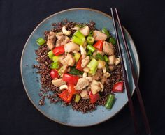 From our blog: Chicken and Cashew Stir Fry with ginger is fast, and fantastic! Custom-made for Phase 3.