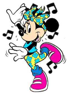 Minnie doing some Hip-Hop dancing, she loves to dance in any kind of style.