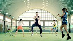 Psy in Gangnam Style.