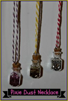 Make your own Pixie Dust Necklaces