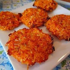 Baked Sweet Potato Cakes