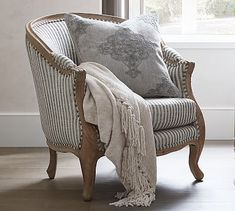 The Emily & Meritt Bergere Upholstered Armchair Furniture For You, Home Furniture, Deco Furniture, Farmhouse Furniture, Space Furniture, Plywood Furniture, Farmhouse Decor, Modern Furniture, Furniture Design