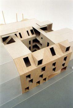 Wha Welingergasse, design model Mladen Jadric Architects 2008