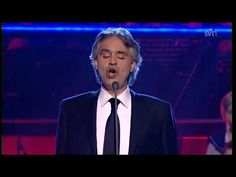 (4) Andrea Bocelli - Voglio Vivere Cosi (Live Skavlan 2010).avi - YouTube