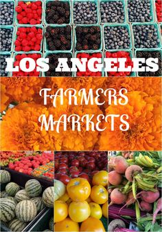 If you come to Los Angeles, you need to visit one of the many farmers markets around town. It's a great place to get the freshest produce while you're on your trip (healthy!), delicious food, snacks, merchandise, and do some great people watching! via @rtwgirl || http://www.rtwgirl.com/los-angeles-farmers-markets/