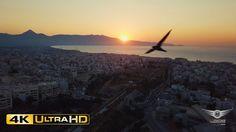 Sunset over Heraklion | Ηλιοβασίλεμα πάνω απ'το Ηράκλειο - AirFootage.gr...