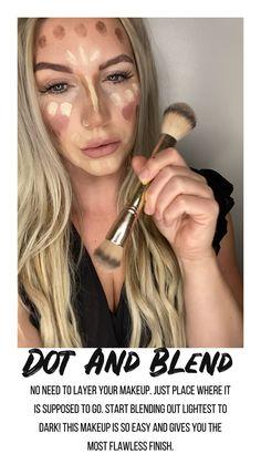 Maskcara Makeup, Maskcara Beauty, Contour Makeup, Eyebrow Makeup, Beauty Skin, Beauty Makeup, Hair Makeup, Hair Beauty, Simple Makeup