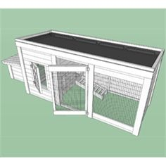 Cool Chicken coop design: Herb Garden Coop Plans (4 chickens) from My Pet Chicken