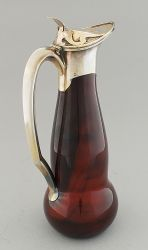 Maitre Orfevre Gustave Keller - Paris, c. 1900   -   Hyalith/Lithyalin glass (made to resemble agate)