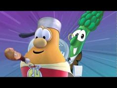 Silly Songs with...LarryBoy? Where does a hero go for help when he can't seem to clean his plate? He needs a Supper Hero! Find out if he'll be the next member of the League of Incredible Vegetables in this silly song from the blockbuster show from our favorite avengers.     VeggieTales: The League of Incredible Vegetables now on DVD and digital do...