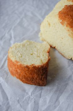 Keto Vanilla Pound Cake - Hey Keto Mama