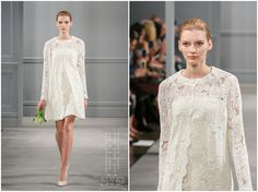 Monique Lhuillier Bridal Spring 2014 :: New York Bridal Market